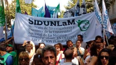 Photo of San Justo: El Sidunlam denuncia otro despido y reclama paritarias