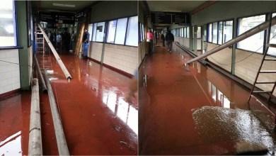 Photo of EXCLUSIVO Hospital Paroissien: cayeron los caños del techo e hirieron a una enfermera