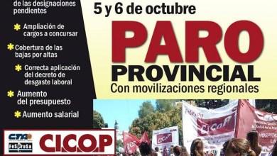 Photo of Por demanda de recomposición salarial: Hoy sin hospitales en Matanza