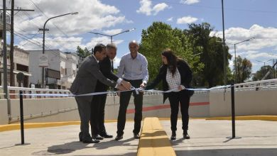 Photo of El Palomar: Tagliaferro y Dietrich inauguraron el Túnel Matienzo