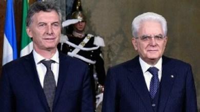 Photo of El Presidente de Italia visitará la Argentina