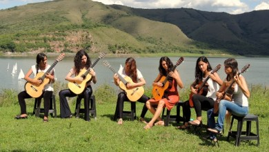 Photo of Espiral de Mujeres Guitarristas: seis mujeres que realizan el rol femenino en la música