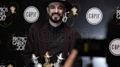 Photo of Abel Pintos ganó el tercer Gardel de Oro