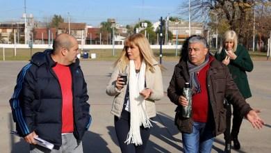 Photo of Verónica Magario recorrió las obras en Parque Alem