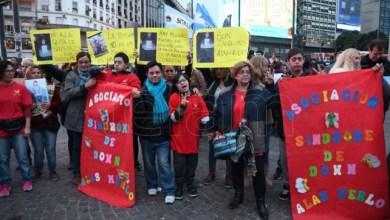 Photo of Personas con discapacidad reclamaron el reintegro de pensiones