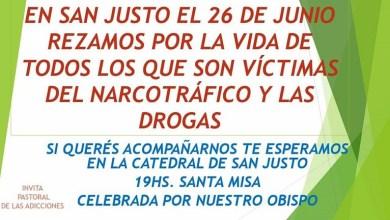 Photo of San Justo: Misa por las víctimas del narcotráfico y las drogas