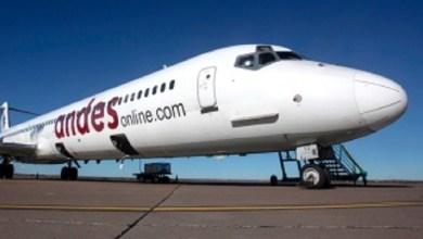 Photo of Se inauguró el vuelo de la aerolínea Andes