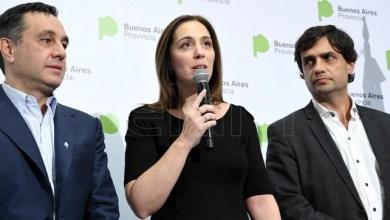 Photo of La gobernadora bonaerense brindó una conferencia de prensa