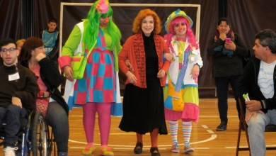 Photo of Mirta Busnelli puso humor en una ceremonia solidaria