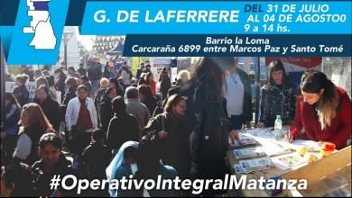 Photo of Barrio La Loma: Culmina mañana el Operativo Integral