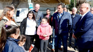 Photo of Massa junto a Giuliani en La Matanza