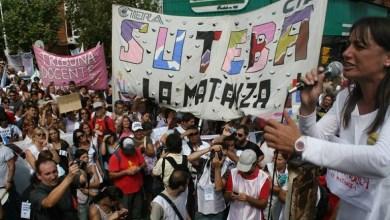 Photo of Acto de Repudio al 12 de Octubre en Plaza de los dos Congreso