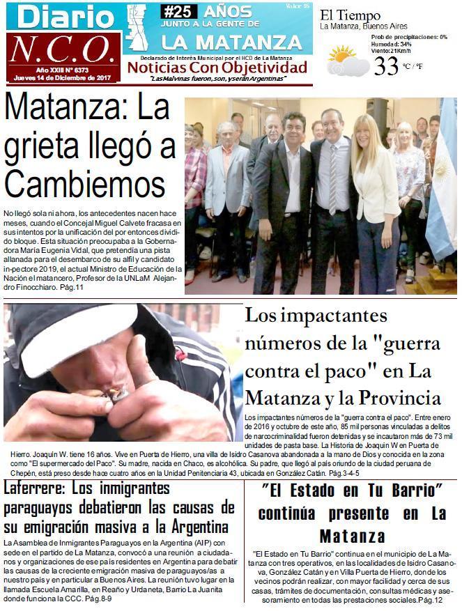 Photo of Morón Avanza: Tagliaferro continúa la obras y las charlas con los vecinos de morón
