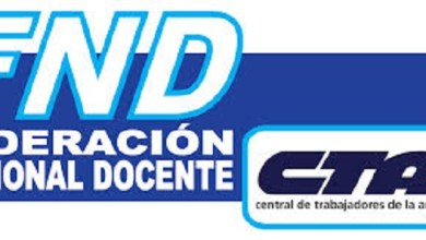Photo of La Federación Docente convoca a paro nacional y movilización
