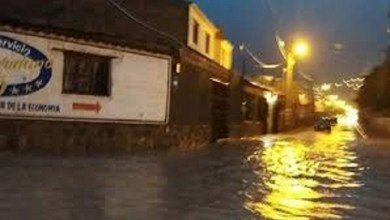 Photo of Jujuy: Barrios afectados por la lluvia