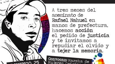 Photo of Pedido de Justicia por Rafael Nahuel