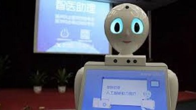 Photo of Médico robots en China