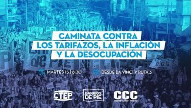 Photo of Marcha de organizaciones sociales hasta el Municipio