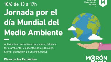"""Photo of Morón celebra el Día Mundial del Medio Ambiente, bajo el lema global """"Un planeta Sin Contaminación por plásticos"""""""