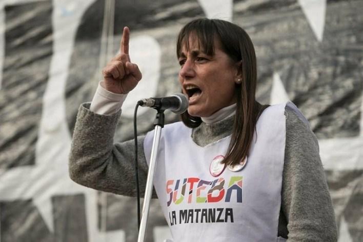 """Romina del Plá: """"Ratificamos los tres días de paro y rechazamos el apriete del gobierno de Vidal o la conciliación obligatoria"""""""
