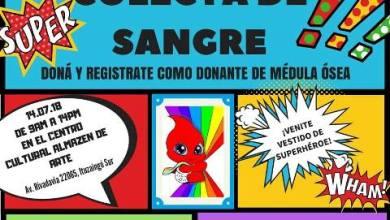 Photo of El ejército de Alejito realizará una colecta de sangre con superhéroes