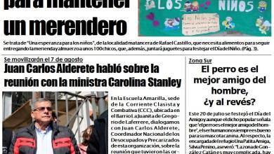 Photo of PORTADA NCO-Edición Impresa-Lunes 23 de julio