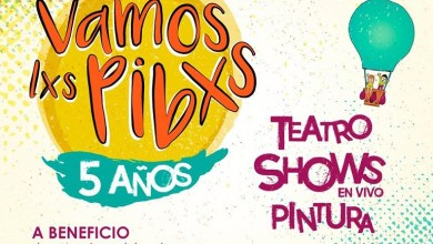 Photo of 19 de agosto festival solidario Vamos Lxs Pibxs