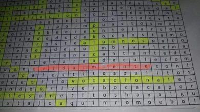 Photo of Un profesor entregó a sus alumnos un crucigrama que decía «Macri gato»