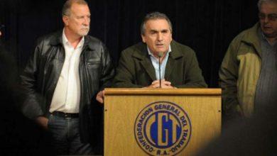 Photo of Cambio de look en la CGT: renunció Juan Carlos Schmid