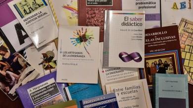 Photo of Se entregarán colecciones de libros a todos los Institutos de Formación Docente del país