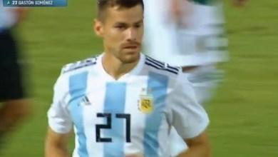 Photo of Orgullo Mirasol: Gastón Giménez debutó en la Selección Argentina