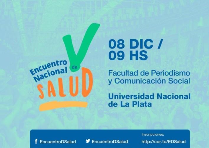 Se realizará el V Encuentro Nacional de Salud - DiarioNCO