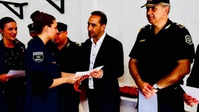 Photo of Tagliaferro destacó por su labor a más de 70 efectivos de la Policía Local