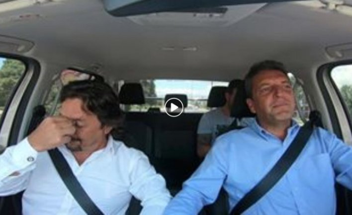 Elecciones 2019: Sergio Massa cantó un hit de Ricardo Arjona