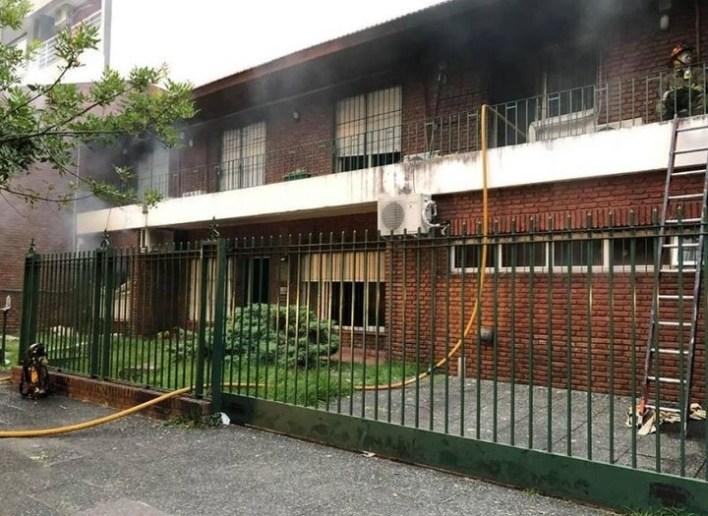 Un incendio en un juzgado de familia en Morón destruyó miles de causas