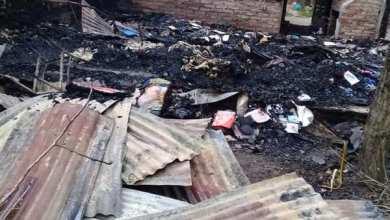 Photo of Dramático: por las altas temperaturas, se les quemó toda la casa
