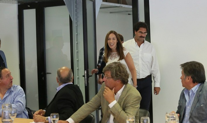 La gobernadora Vidal