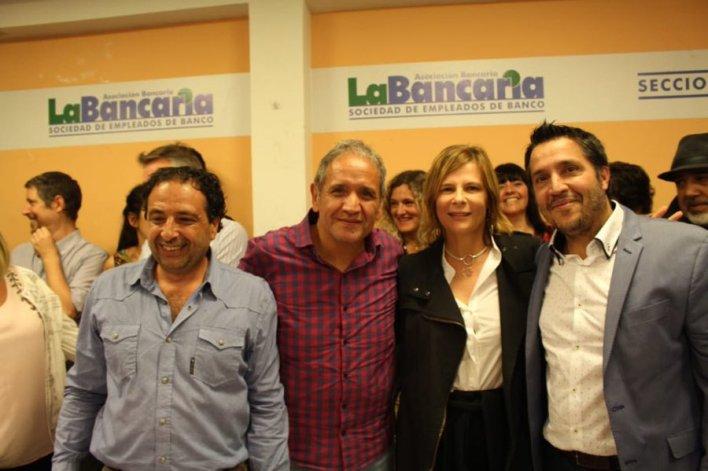 """Sergio Palazzo en La Plata: """"La gente está cansada de no ser escuchada"""""""