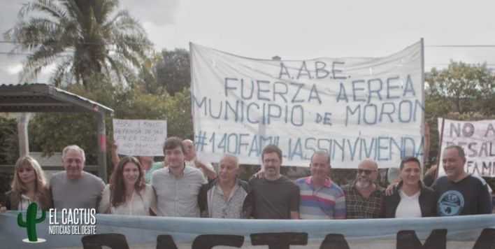 Morón   La oposición unida para frenar los desalojos del Barrio Aeronáutico de El Palomar