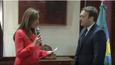Photo of María Eugenia Vidal tomó juramento a José Grippo como Secretario de Legal y Técnica
