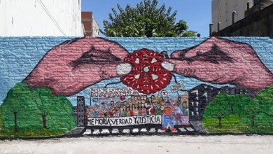Photo of Mural por la memoria en La Matanza