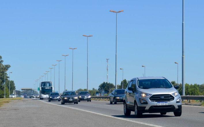 Por Semana Santa, despliegan un operativo especial en Autopista y rutas que van hacia la Costa