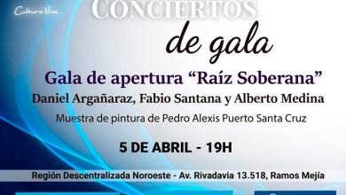 """Photo of """"Conciertos de Gala"""": El ciclo de conciertos abre su 12° temporada y presenta al trío """"Raíz Soberana"""""""