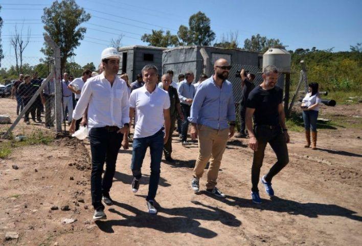 Zabaleta recorrió el nuevo Parque Industrial