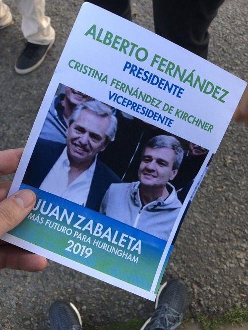 Zabaleta inició la campaña con la fórmula FF