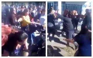 Vergonzoso: madres se agarraron a trompadas en la puerta de un jardín