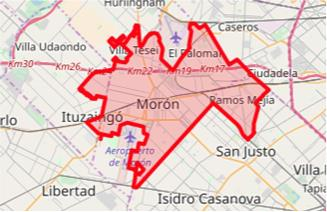 Baja presión de agua por obras en Morón