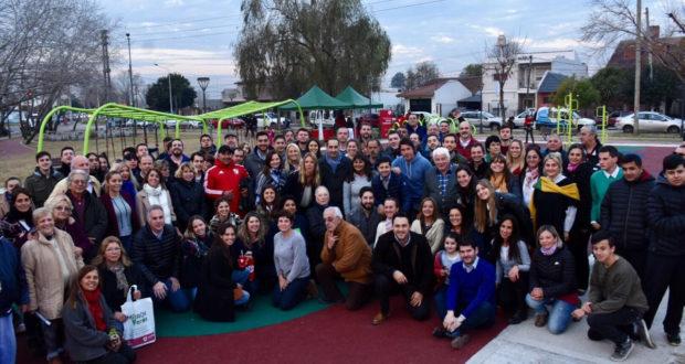 Castelar: Inauguran nuevo espacio urbano en Barrio Seré