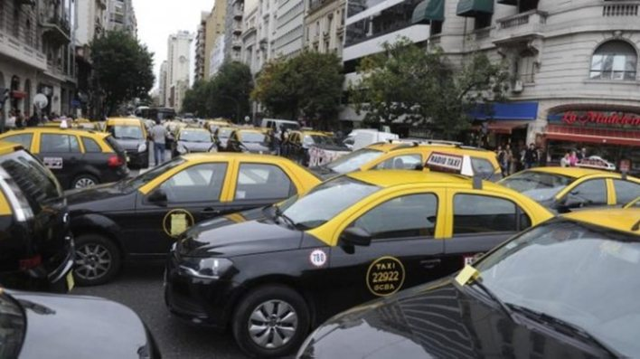 Los taxistas vuelven a protestar contra Uber