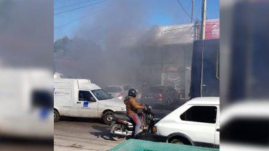 Photo of Ahora Morón Incendio de una automotriz en Castelar